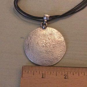 Jewelry - Boho Extra Large Medallion Necklace